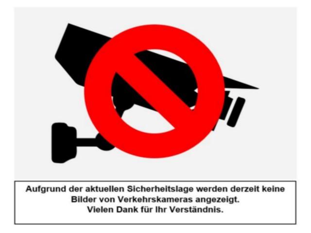 Webcam sur l'A5 près de Lörrach en Allemagne, à proximité des frontières françaises (Saint-Louis) et suisses (Bâle)