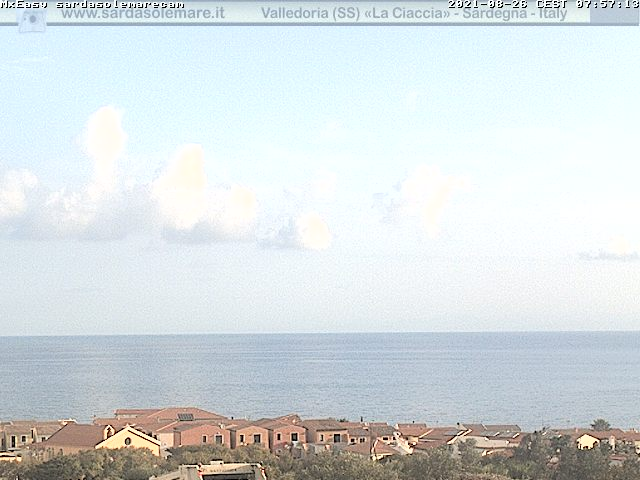 Webcam Valledoria, La Ciaccia - Sardasolemare