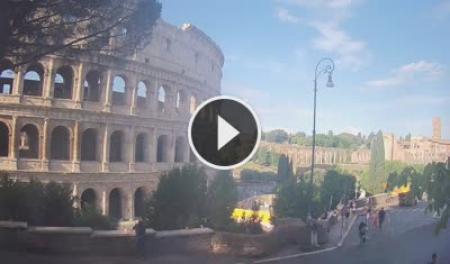 Webcam Roma, Colosseo - Skyline Webcams