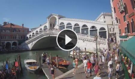 Webcam Venezia, Ponte di Rialto - Skyline Webcams