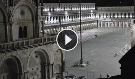 Webcam Venezia, Piazza San Marco - Skyline Webcams