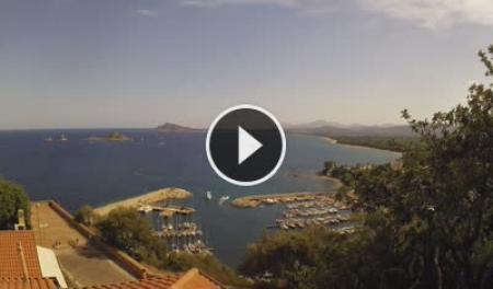 Webcam Baunei, Santa Maria Navarrese - Skyline Webcams