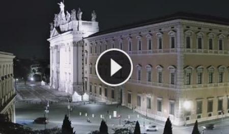 Webcam Roma, Piazza San Giovanni - Skyline Webcams