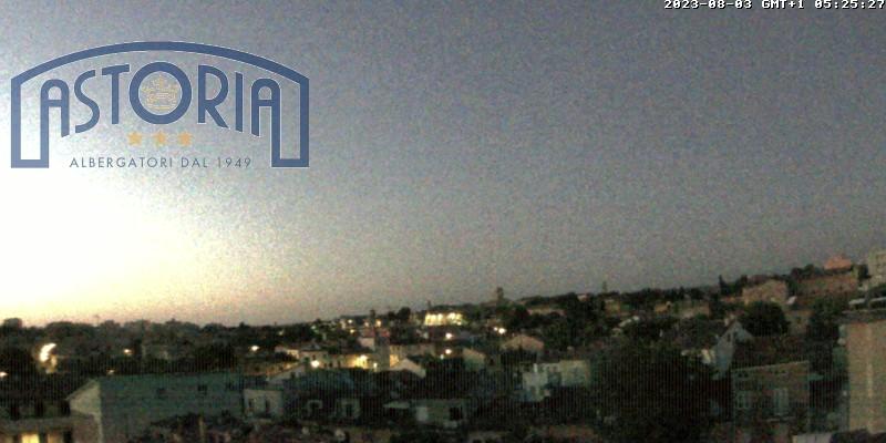 Webcam Fano, Lido - Hotel Astoria