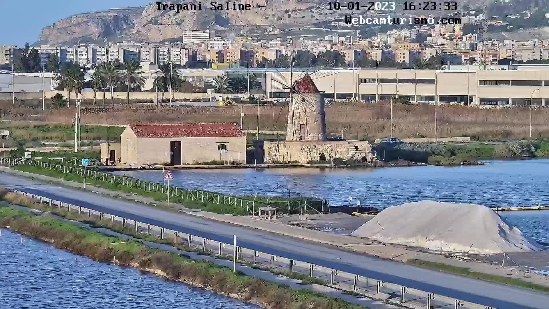 Webcam Trapani, Saline - Webcam Turismo