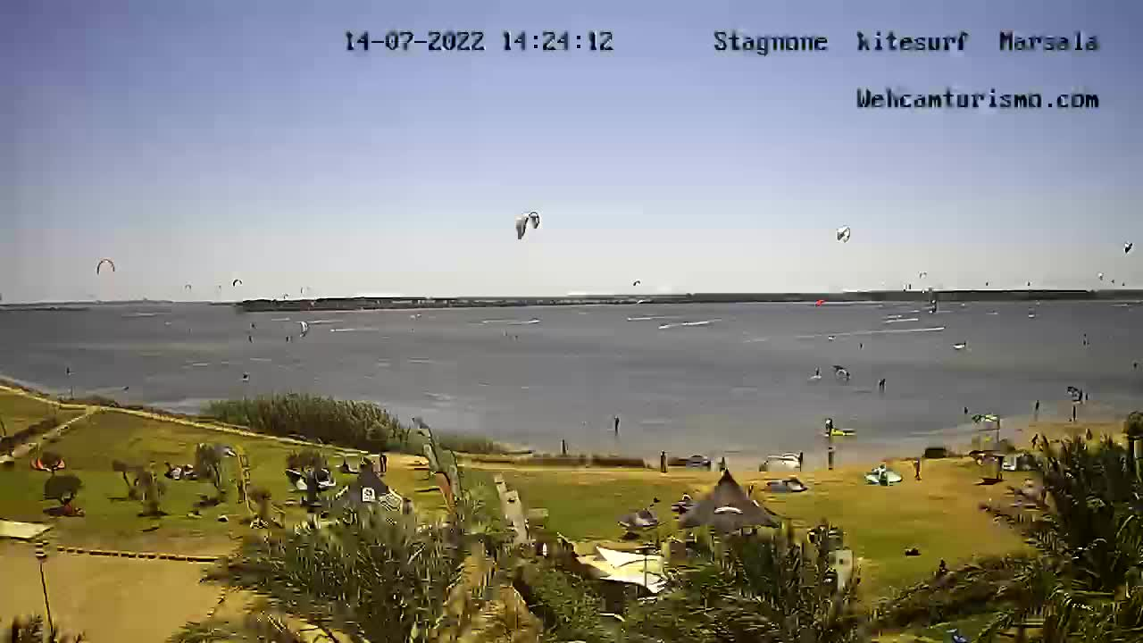 Webcam Marsala, Stagnone - Webcam Turismo