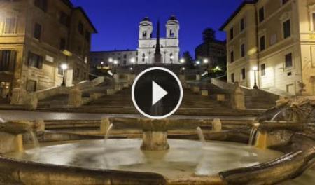 Webcam Roma, Piazza di Spagna - Skyline Webcams