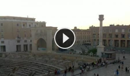 Webcam Lecce, Piazza Santo Oronzo - Skyline Webcams