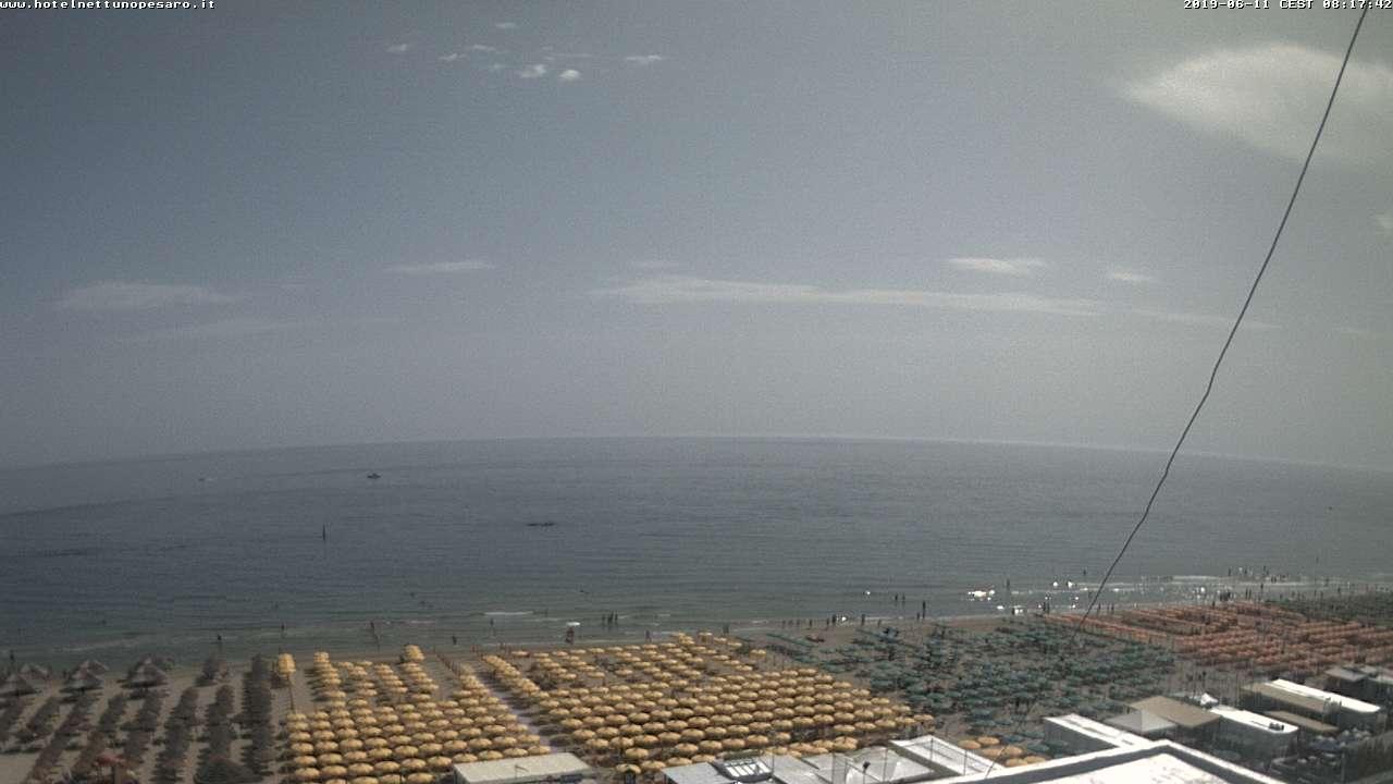 Webcam Pesaro - Hotel Nettuno