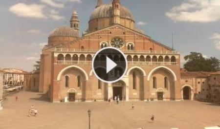 Webcam Padova, Basilica di S. Antonio - Skyline Webcams