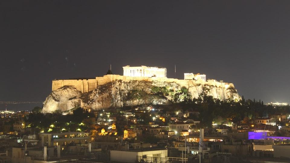 Uhrzeit Athen