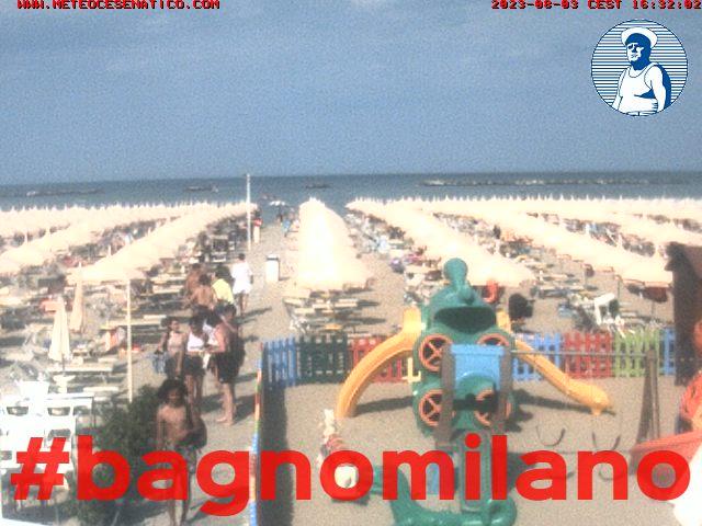 Cesenatico in diretta webcam e hotel cesenatico italia meteo cesenatico - Bagno renata cesenatico ...