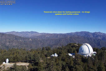 Webcam Mount Wilson, California