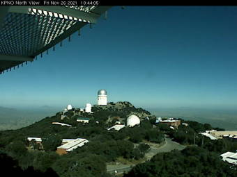 Webcam Kitt Peak, Arizona