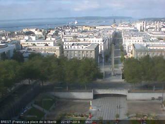 Brest - View onto Brest