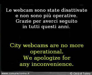 Webcam Turin