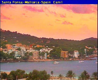 Webcam Santa Ponsa (Majorca)