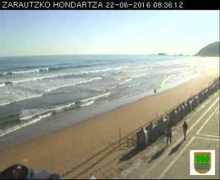 Webcam Zarautz