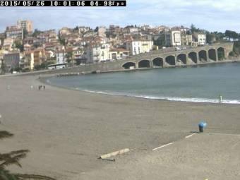 Webcam Banyuls sur mer