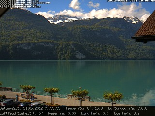 Webcam Lake Brienz