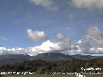 Webcam Mount Ngauruhoe