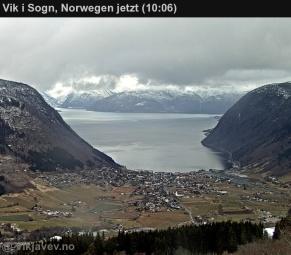 Webcam Vik i Sogn