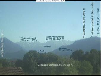 Webcam Murnau am Staffelsee