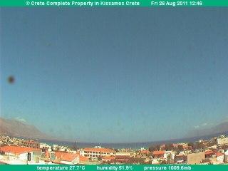 Webcam Kissamos (Crete)