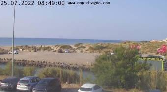 Webcam Cap d'Agde