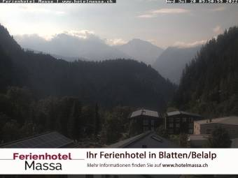 Webcam Blatten bei Naters