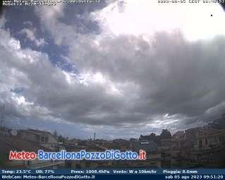 Webcam Barcellona Pozzo di Gotto