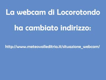 Webcam Locorotondo