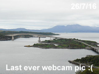 Webcam Kyle of Lochalsh
