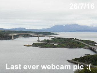 Webcam Kyle of Lochalsh