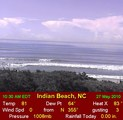 Webcam Indian Beach, North Carolina
