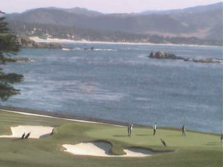 Webcam Pebble Beach, California
