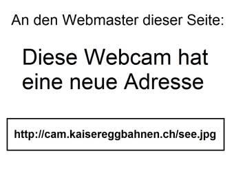 Webcam Schwarzsee