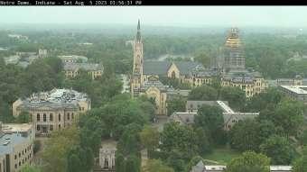 Webcam Notre Dame, Indiana
