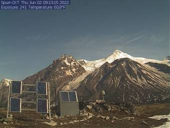 Webcam Mount Spurr, Alaska