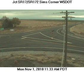Webcam Coulee City, Washington