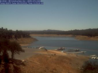 Webcam Lake Nacimiento, California