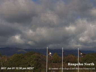 Webcam Ruapehu
