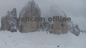 Webcam Tre Cime di Lavaredo, Dolomites
