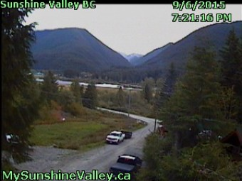 Webcam Sunshine Valley