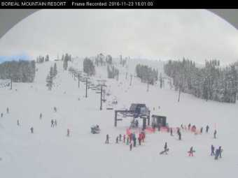 Webcam Boreal Mountain Resort, California