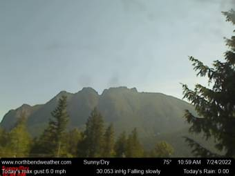 Webcam North Bend, Washington