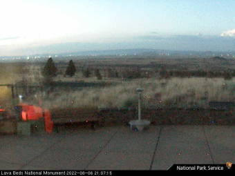 Webcam Lava Beds National Monument, California