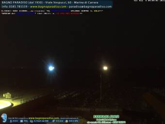 Webcam Marina di Carrara