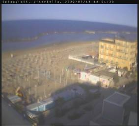 Webcam Viserbella di Rimini