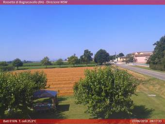 Webcam Rossetta di Bagnacavallo